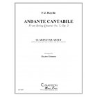 Andante Cantabile from String Quartet No. 5, Op. 3