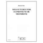 Solo Etudes for Euphonium