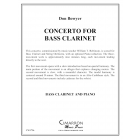 Concerto for Bass Clarinet and Piano