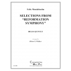 """Selections from """"Reformation Symphony"""""""
