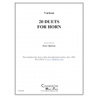 20 Duets for Horn