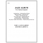 Jazz Album (clarinet quartet - part 3 Alto cl)