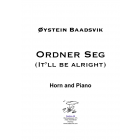 Ordner Seg (It'll be alright) Horn and piano