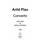 Concerto for tuba and strings  (SOLO PART ONLY) Plau