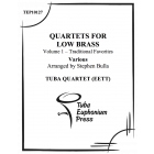 Quartets for Low Brass, Vol. 1 Traditional Favorites