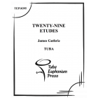 Twenty-nine Etudes