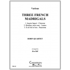 Three French Madrigals