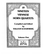 Shipped - Nineteen Viennese Horn Quartets volume I