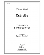 Czardas (tuba and wind quintet)